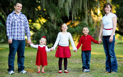 Dr. Heaton and His Family - Pediatric Dentist in Harker Heights